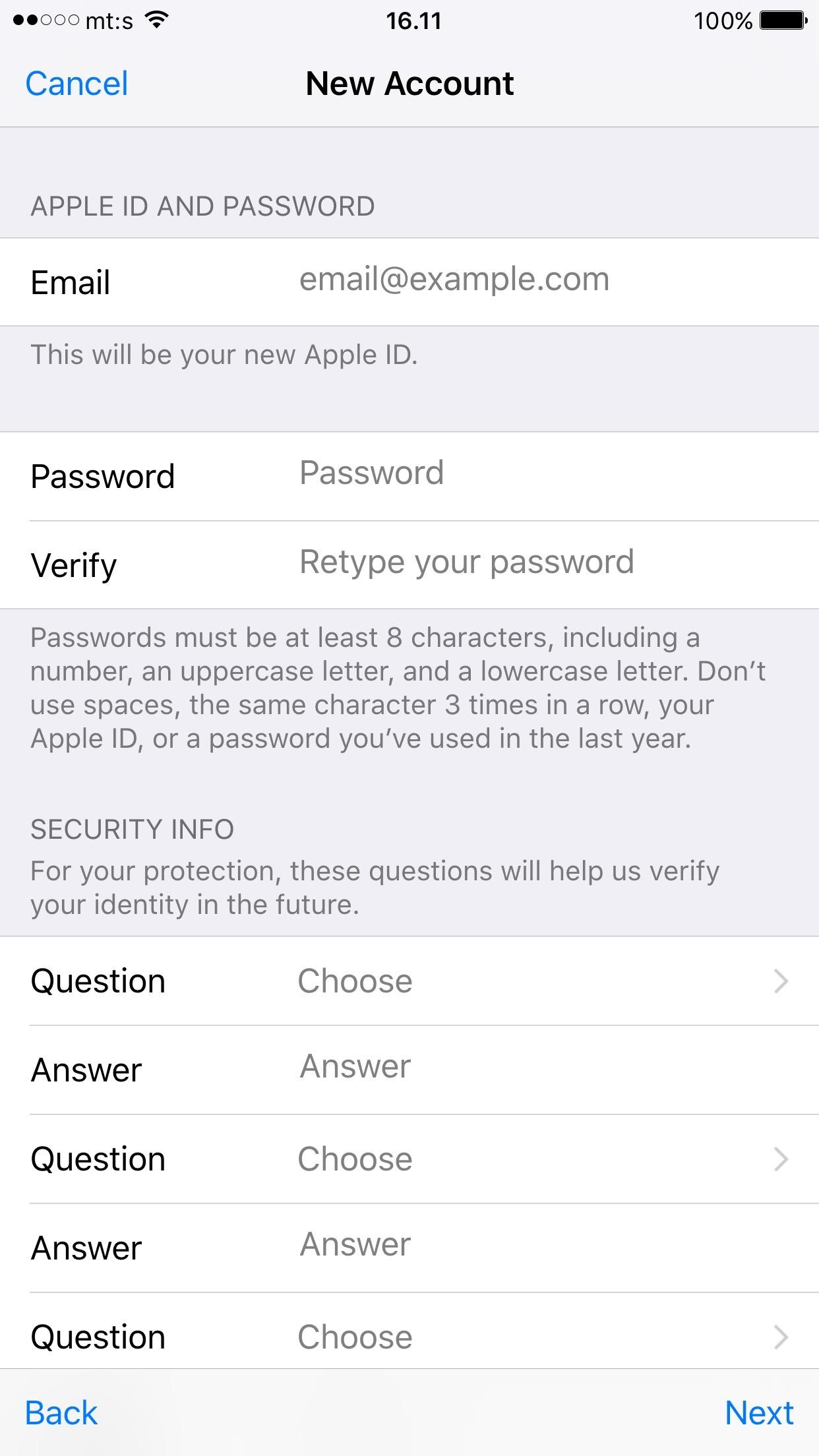 apple id 10